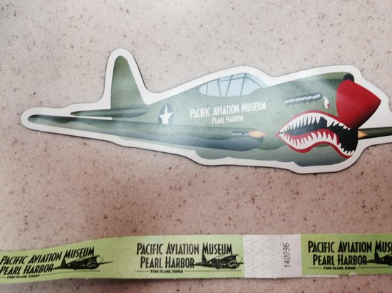 Pacific Aviation Museum Pearl Harbor : be sure to get your magnet !