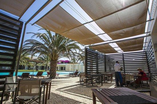Hotel Dunas de Sal: Outside Restaurant terrace