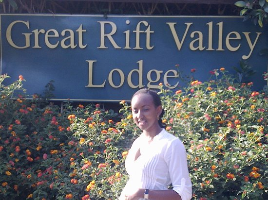 Great Rift Valley Lodge & Golf Resort: main entrance
