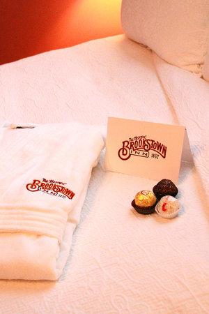 Brookstown Inn : Chocolates