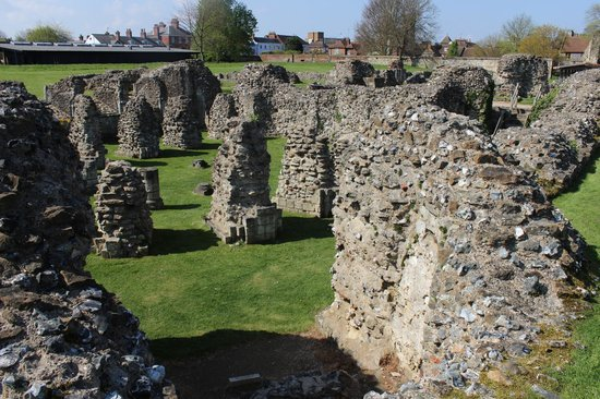 St. Augustine's Abbey: Some of the structure
