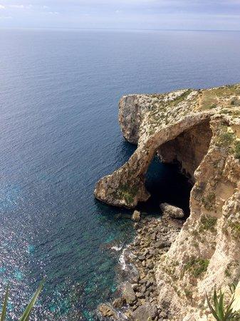 Blue Grotto (Il-Hnejja) : Cliff View
