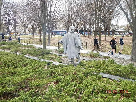 Korean War Veterans Memorial : first there's one