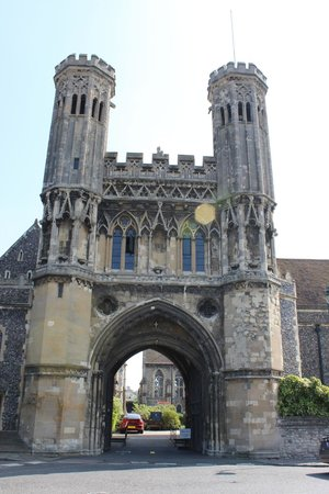 St. Augustine's Abbey: The gate for VIP's