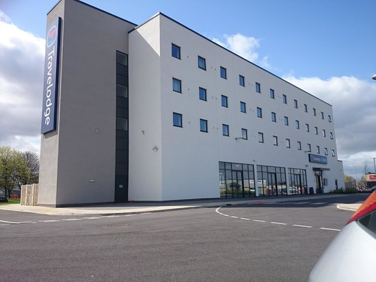 Travelodge Darlington Hotel: easy to find