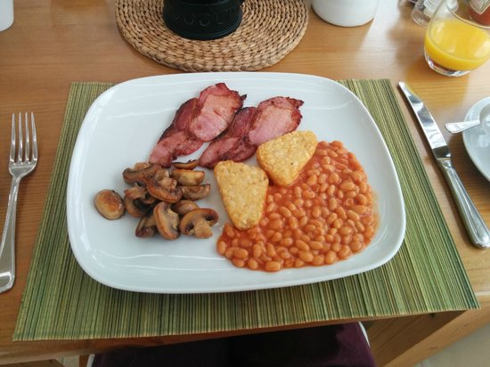 Ashfield House Luxury B&B: Cooked to order breakfast