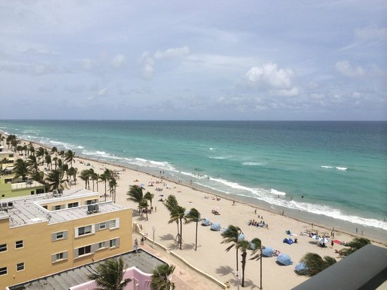Hollywood Beach Marriott: View from room 1003