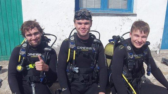 Safari Diving Lanzarote: Up the Tigers