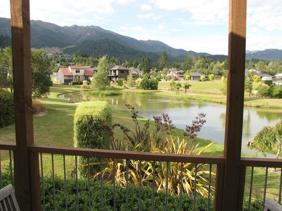 Heritage Hanmer Springs: The view from the terrace of our villa