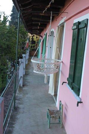 B&B da Giacomone: Top floor balcony