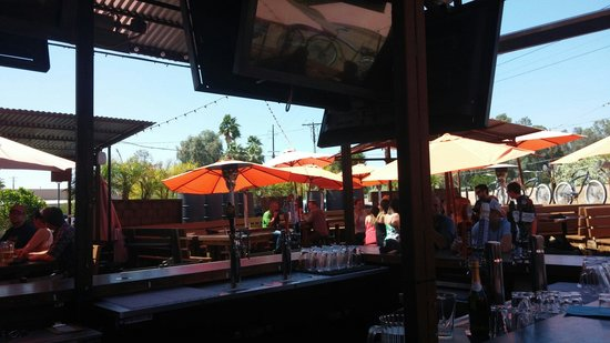 outdoor dining picture of o h s o eatery nanobrewery phoenix