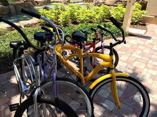 Hyatt Regency Orlando : Bicycle Built for Two