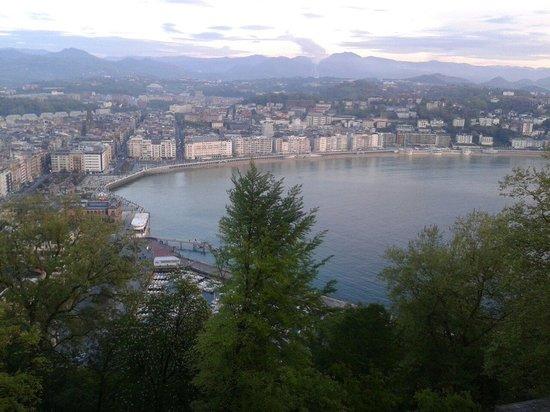Monte Urgull: Vistas