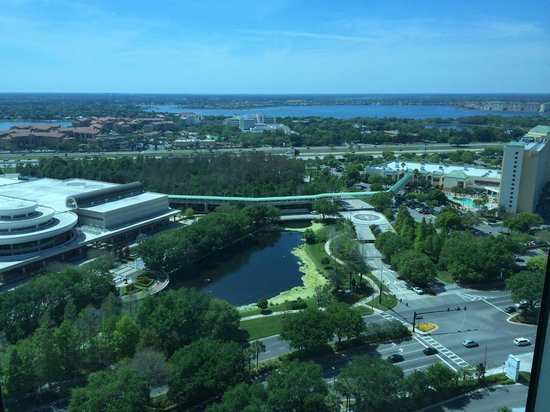 Hyatt Regency Orlando : A Room with a View