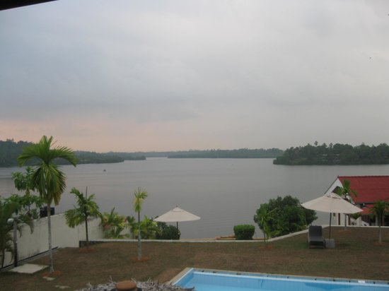 Kalla Bongo Lake Resort: The View From Our Room
