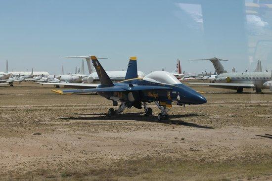 Pima Air & Space Museum : Navy Blue angel