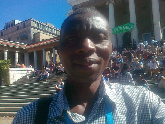 33 South Backpackers: John Baligira at UCT Upper Campus