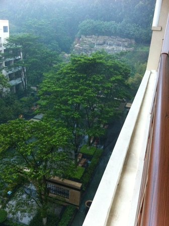 Le Meridien Xiamen : View from the room