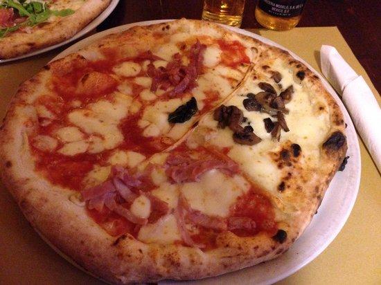 Pizzeria Mediterranea : quatro