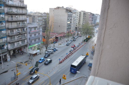 Capsis Hotel Thessaloniki : View from the window