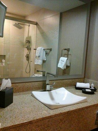 Luxe City Center Hotel: banheiro
