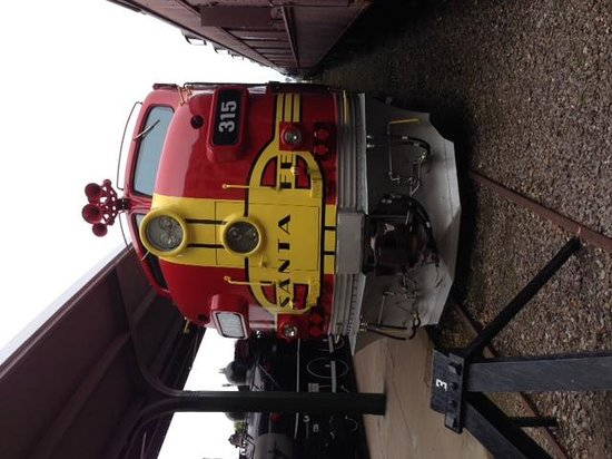 Galveston Island Railroad Museum and Terminal: Santa Fe Express Train