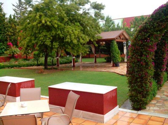 Hotel Cortijo Chico: GARDEN