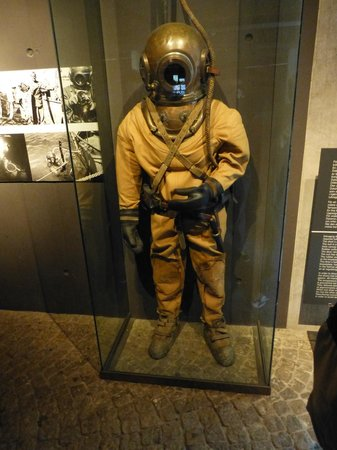 Vasa-Museum: diving suit