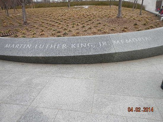 Martin Luther King, Jr. Memorial: memorial opening
