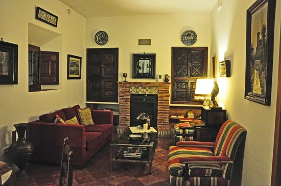 Santa Isabel la Real : une partie du salon