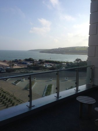 Inchydoney Island Lodge & Spa: View from residents lounge