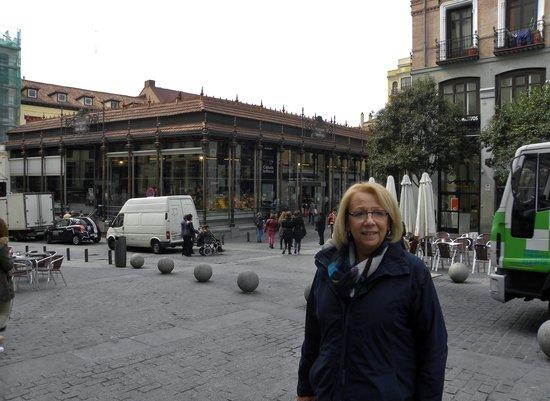 Mercado San Miguel: A beautiful building