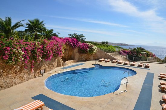 Stella Di Mare Beach Hotel & Spa: czesc poziomu 4 basen przy SPA - part of 4 level SPA pool
