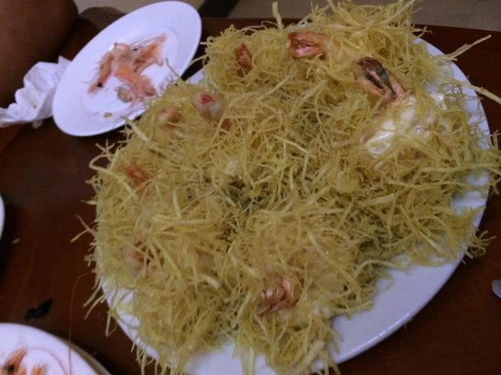 Sentai Seafood Restaurant: Fried prawns