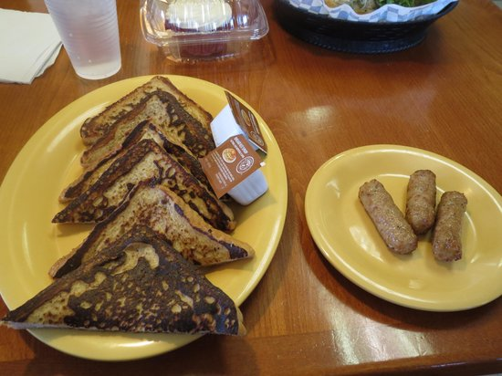 William's Gourmet Kitchen : French Toast with sausage