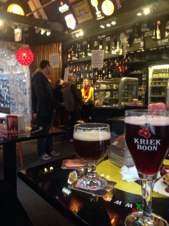 2be Beer Wall: Mu fav beer, kriek boon