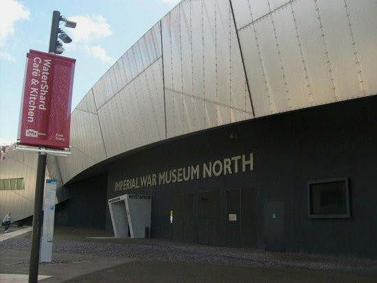 Imperial War Museum North: Entry..