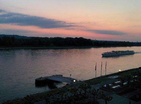 Rheinhotel Loreley: Abenddämmerung #2