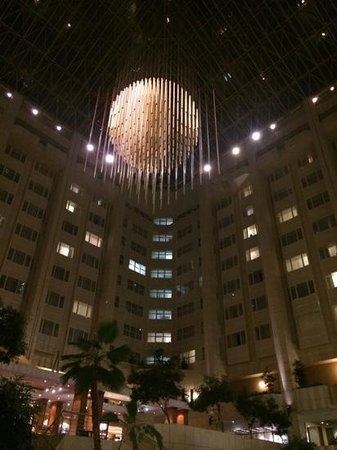 Hilton Prague: la lobby