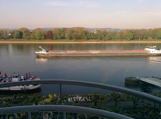 Rheinhotel Loreley: morgentlicher Ausblick #2