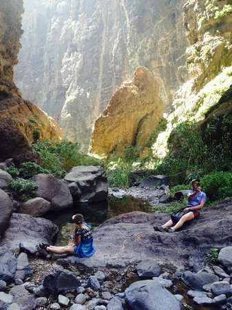 Masca Valley : It's hard but valuable