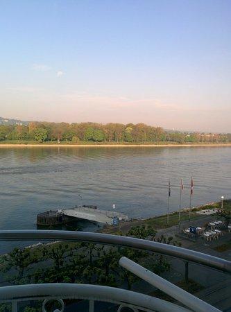 Rheinhotel Loreley: morgentlicher Ausblick #1