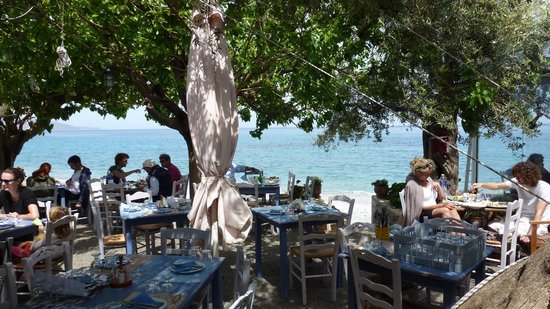 Myrtoon : lunch by the waves