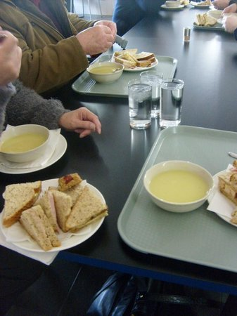 Imperial War Museum North: Lunch ..