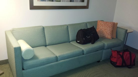 SpringHill Suites Phoenix North: Pull out sofa bed