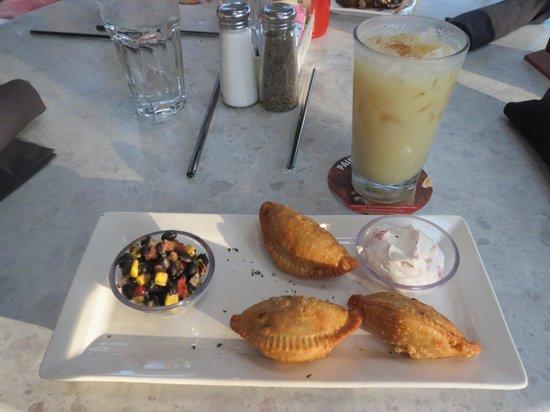 Bahama Breeze: Chicken Empanadas