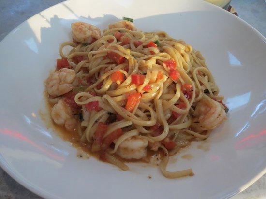 Bahama Breeze: Calypso Shrimp Linguine