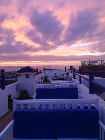 Riad Dar Afram: Sunset at Dar Afram