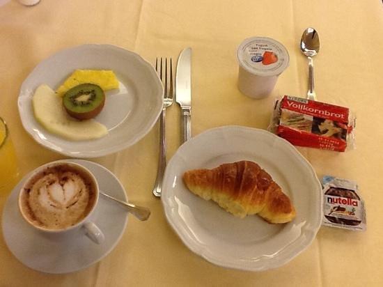 Hotel Victoria: Desayunos excelentes! recomiendo el Capuccino!