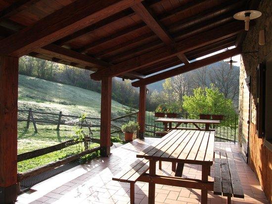 Farmhouse La Chiusa: Il portico